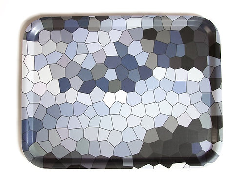 Lake diamond big tray 48x37 cm