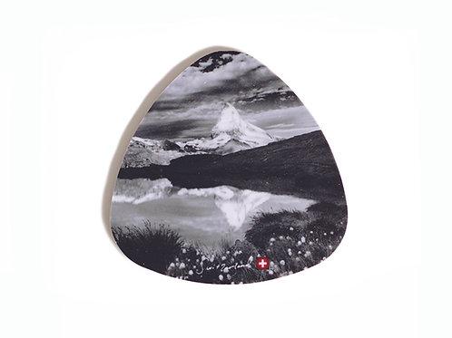 Matterhorn coaster / glas underlay