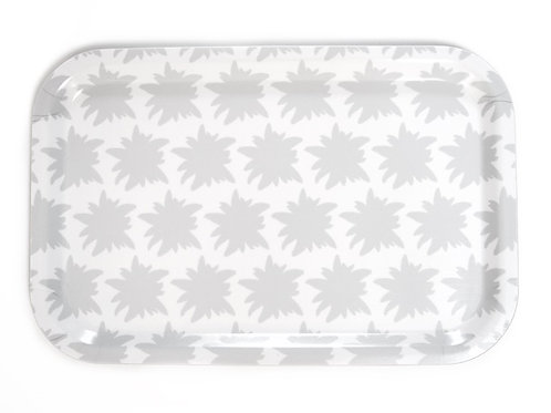 Edelweiss white tray 33x21