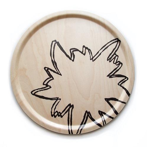 Edelweiss tray birch veneer 46 cm