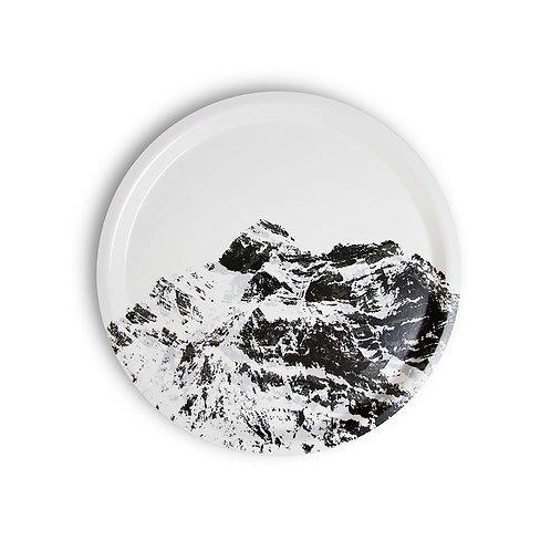 Mountain tray round 31 cm