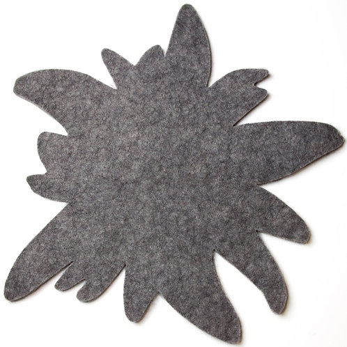 Edelweiss felted rug / noise reducer