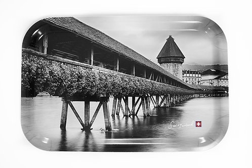 Luzern Kapellbrücke tray 33x21 cm