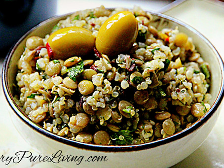 Positivity and Quinoa & Lentil Salad Recipe