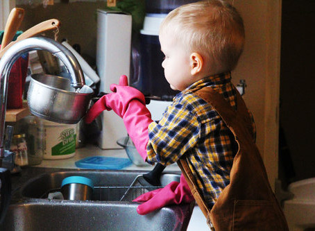 Homesteading with Young Children