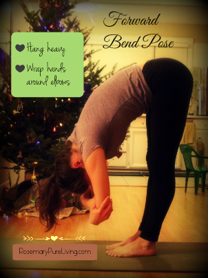 Forward Bend Pose