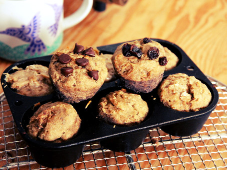Springtime Planting & Buckwheat Banana Muffin Recipe