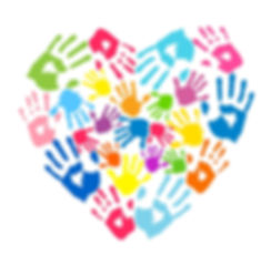 heart-of-the-handprints-of-parents-and-k