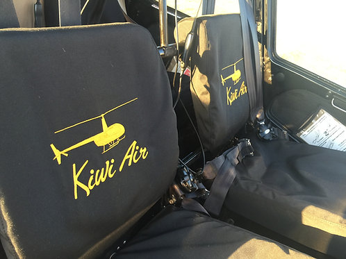 R44 Seat Covers (NOT FAA Approved Fabric)