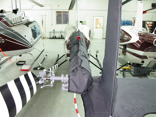 R22 Tail Boom Cover with Hail Protection