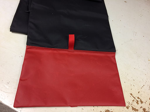 Astar D, BA, B2 Blade Covers with Built-In Tie Downs