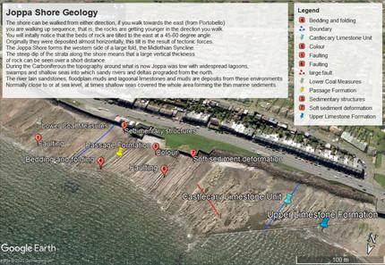 Joppa Shore Geology Walk