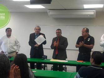 Nombramiento como Director del Instituto Tecnologico de Altamira al M.C.Miguel Angel Villar Morales.