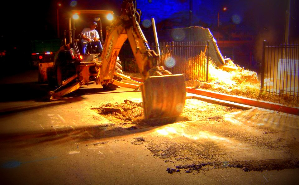 Night Digging