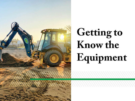 Getting to Know the Equipment