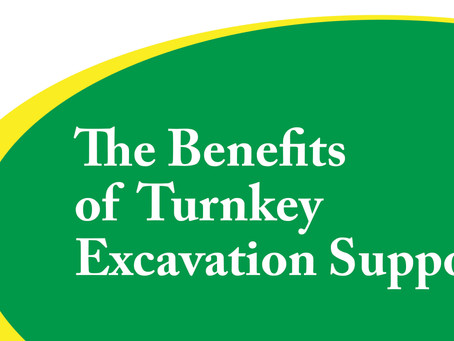 The Benefits of Turnkey Excavation Support
