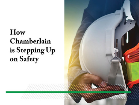 How Chamberlain is Stepping Up on Safety