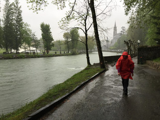 Camino de Santiago Day One: Lourdes to Asson: Wet, wet, wet.
