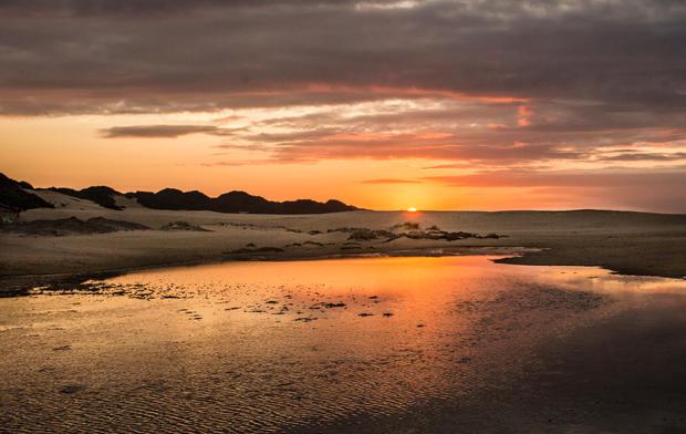 Sunset, Kleinemonde