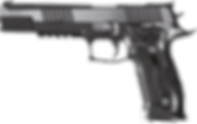 sig sauer x six black and white