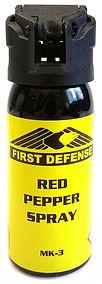 first defense red pepper spray mk-3 selbstverteidigung