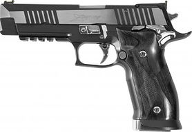 sig sauer x five black and white