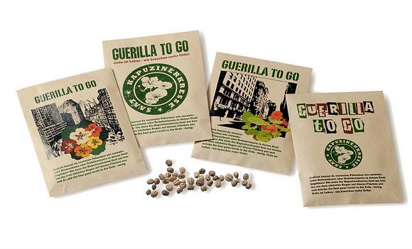 Guerilla - Seedbombs to go