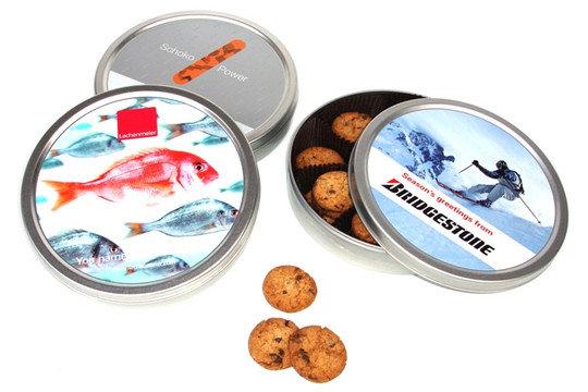Cookies in der Dose