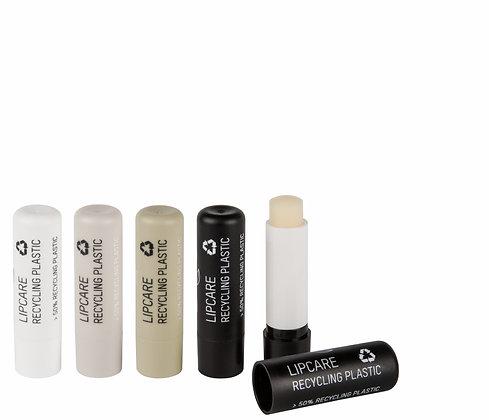 Lippenpflegestift aus recycliertem Plastik