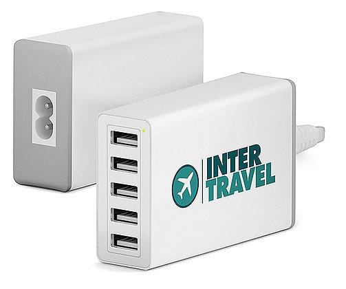 USB Adapter mit 5 Anschlüssen