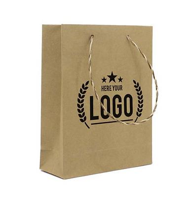 Recycelte Papiertaschen