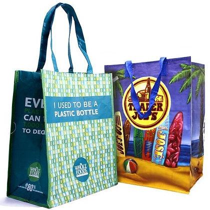PET recyclierte Shopping Taschen