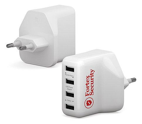 USB Adapter mit 4 Anschlüssen