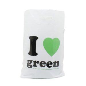 Recycelte Plastiktasche