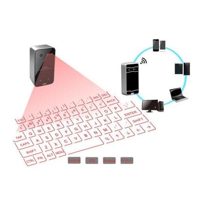 Bluetooth Lasertastatur