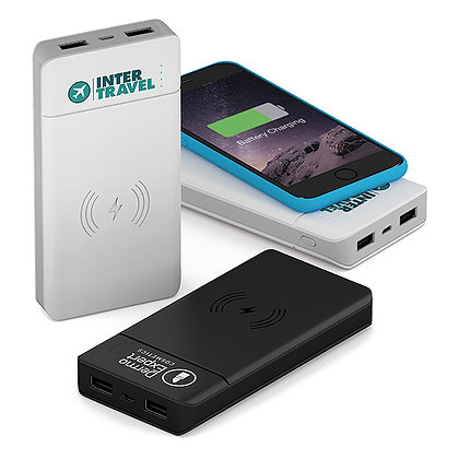 Powerbank mit Induktion 8000mAh