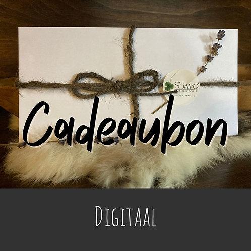 Cadeaubon digitaal