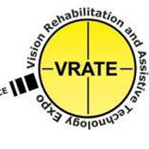 VRATE Home Page Logo. A picture of a magnifying glass with the letters V R A T E