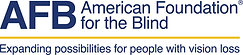 logo - AFB American Foundation for the B