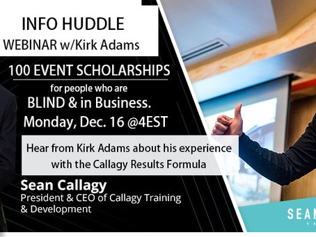 INFO WEBINAR - Scholarships for Business Training