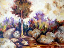 Melting Tree with Iris