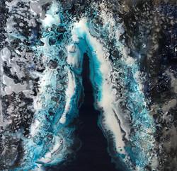 Crevasse in Blue