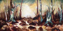 Cerulean Blue in Marsh