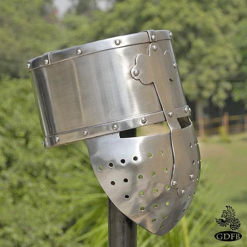 Crusader Helmet - Fixed Face - 14g - AB2968