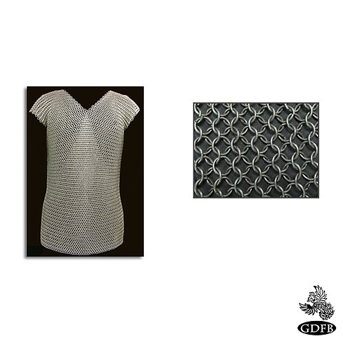 Chainmail - Sleeveless - Mercenary Grade - Code 16B - AB2789 - AB2798