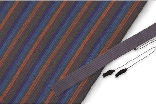Japanese Sword Bag, Stripe Pattern - OH2478