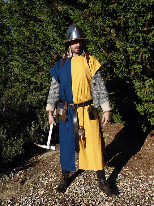 Squire's Tunic - Yellow / Blue - GB4042