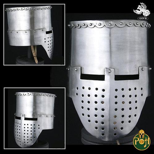 Crusader Flat Top Helmet - 14 g - AB0360