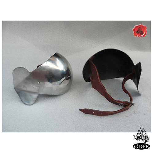 Couters - Elbow - 14th C Knights Protection  Elbows - AB2896