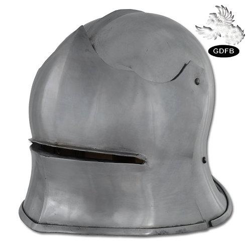 Sallet Combat Helm - 14 gauge - AB2732